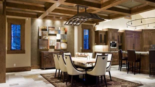 Contemporary Rustic House Decorating Ideas