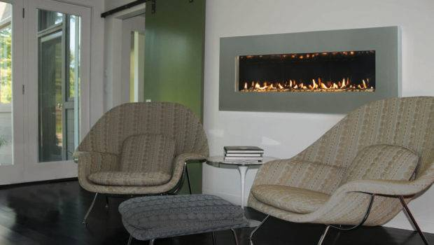 Contemporary Wall Mount Fireplace Slim Spark Modern Fires