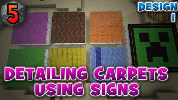 Cool Carpet Designs Minecraft Relevant