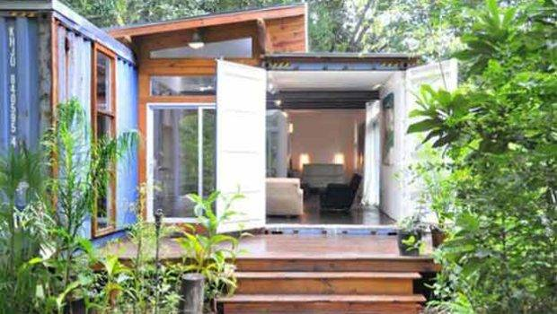 Cool Container Homes Homesteading
