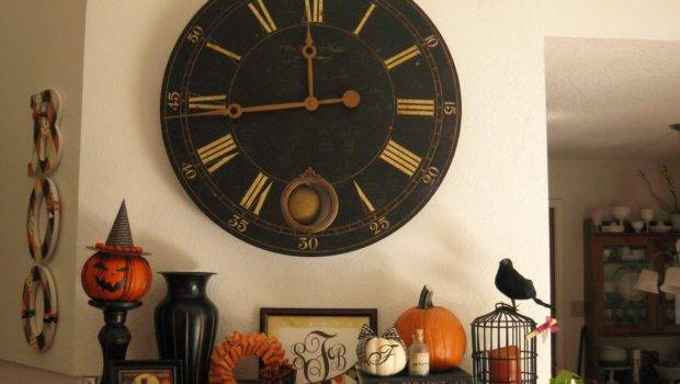 Cool Daily Pics Great Halloween Mantel Decorating Ideas