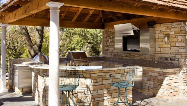 Cool Design Outdoor Kitchen Custom Designed Kitchens