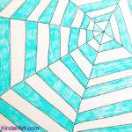 Cool Easy Designs Draw Kids Spider Web Pattern
