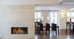 Cool Fireplace Wall Home Interior Design Ideas