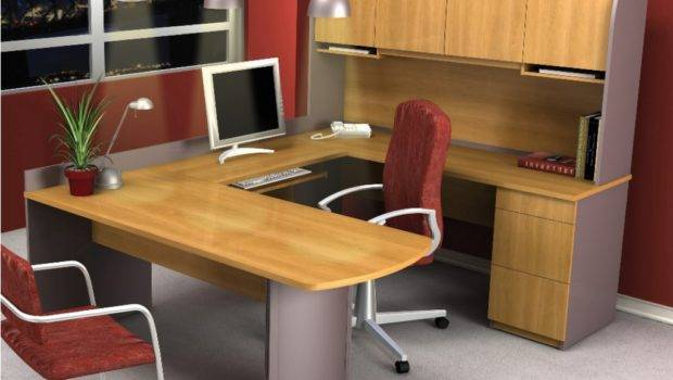 Cool Home Office Shaped Desk Radioritas Throughout Small