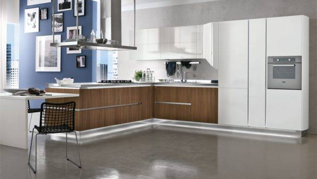 Cool Kitchen Interior Contemporary Style Modern Furniture