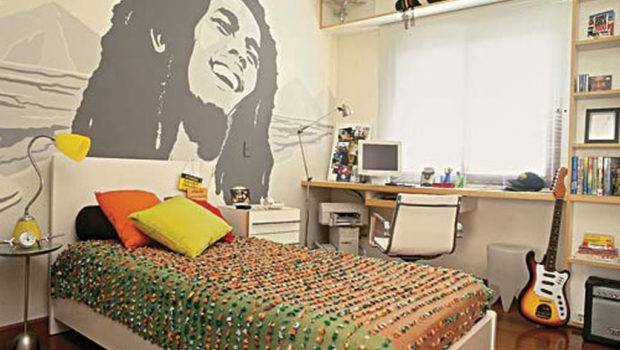 Cool Marley Inspired Bedroom Teen Boys