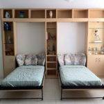 Cool Murphy Bed Designs Two Beds Great Unique Look