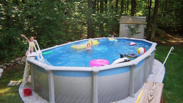 Cool Off Your Stress Above Ground Poolsmanydesign