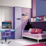 Cool Purple Pink Teenage Girls Bedrooms Modern Furniture