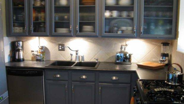 Cool Repainting Kitchen Cabinets Ideas Easy Remodeling Way
