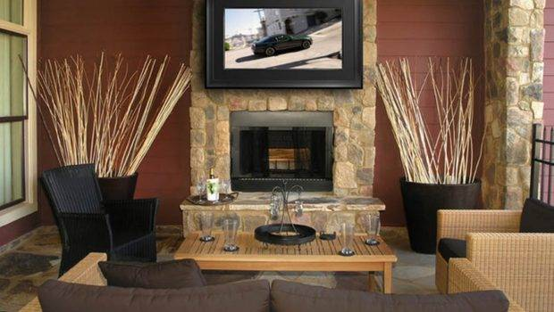 Cool Stone Fireplace Designs Above Fireplaces