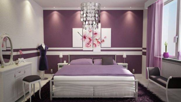 Cool Wall Paintings Bedrooms Home Design