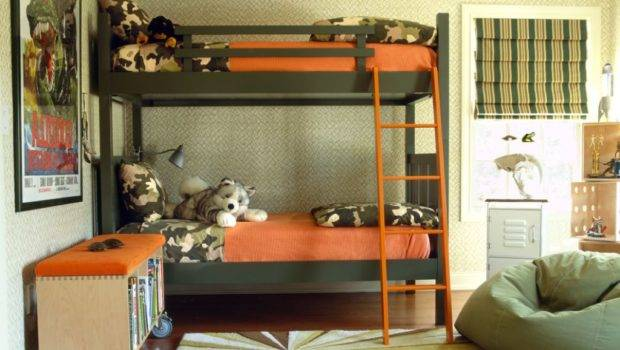 Coolest Charmingly Shared Kids Room Decorating Ideas