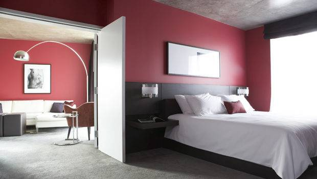 Cor Bedroom Red Decorative