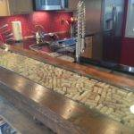 Cork Inlay More Wine Bars Corks Countertop Adore