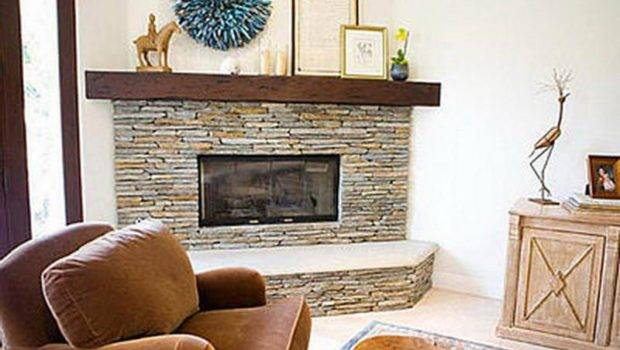 Corner Stone Fireplace Designs Bloombety Good