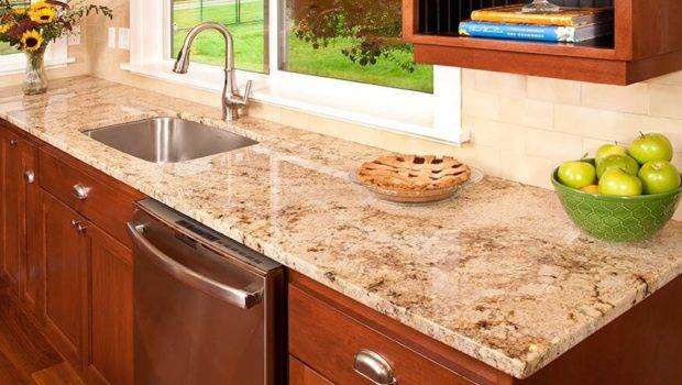 Country Kitchen Granite Countertops Solid Rock