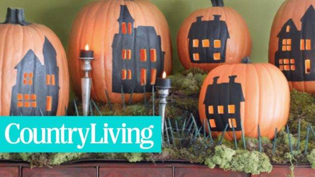 Country Living Best Pumpkin Decorating Ideas Youtube