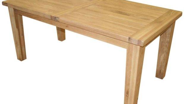 Country Oak Extending Dining Table Only