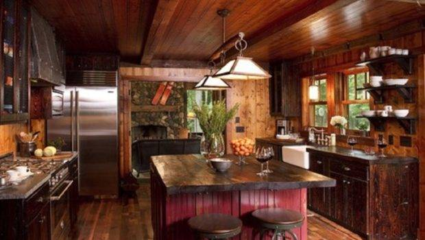 Country Style Rustic Kitchen Designs