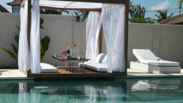 Cozy Outdoor Canopy Bed Amazing Pool Chaise Lounge Chair