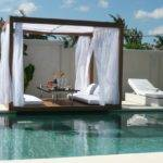 Cozy Outdoor Canopy Bed Amazing Pool Chaise