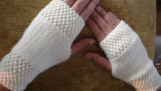 Cozy These Stylish Hand Warmers Winter Made Knitted