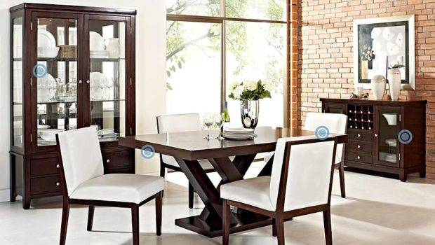 Crafted Care Knock Steve Silver Dining Table