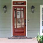 Craftsman Exterior Wood Front Door Dbyd