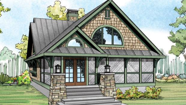 Craftsman House Plan Home Bungalow Glen Eden