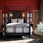 Cranberry Red Bold Wall Color Perfect Backdrop Sleek
