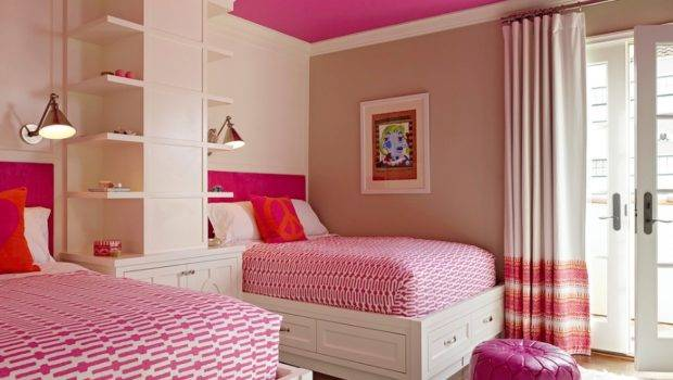 Create Colorful Kids Rooms Painting Ceiling Bright Hue
