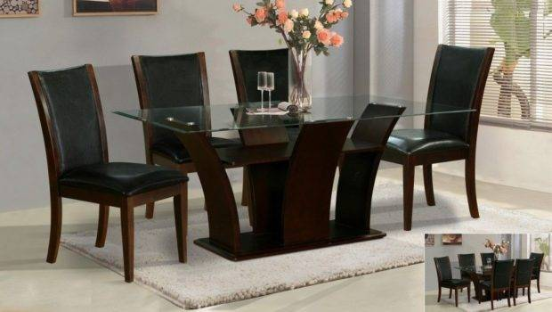 Create Unique Look Glass Top Dining Table