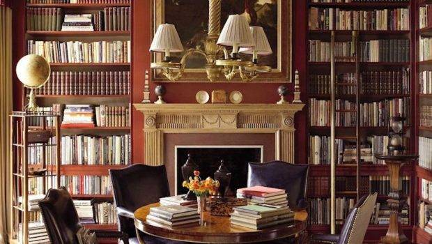 Creating Chic Cosy Home Library Best Colors Lighting