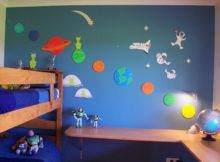 Creating Outer Space Themed Bedroom Below Nice Designs
