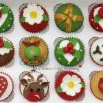 Creative Cake Academy Christmas Cupcakes New Design