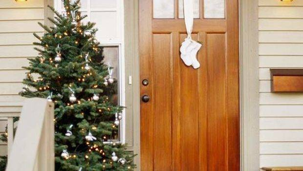 Creative Christmas Front Door Decorations