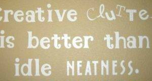 Creative Clutter Words Pinterest