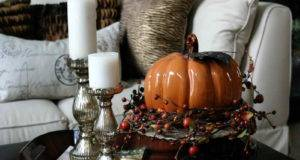 Creative Coffee Table Decorating Ideas Candle Holder