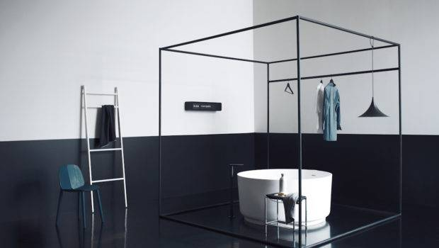 Creative Look Black Bathroom Interior Design Ideas