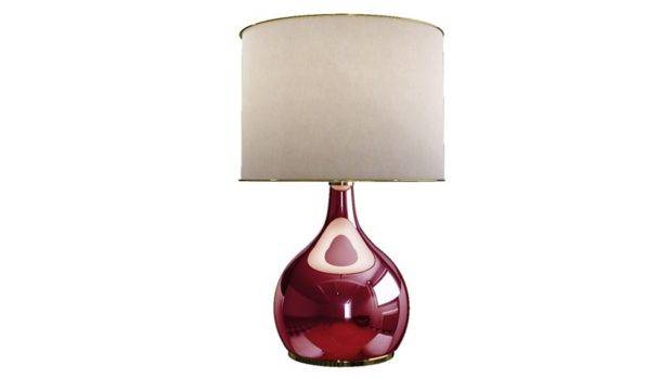 Creative Mary Colaba Table Lamp Red Longest Stay