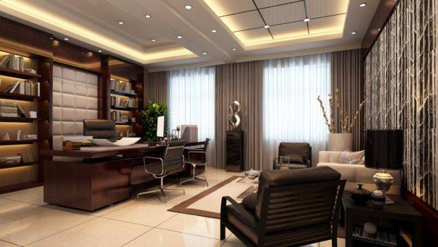 Creative Modern Luxury Office Design Ideas Home