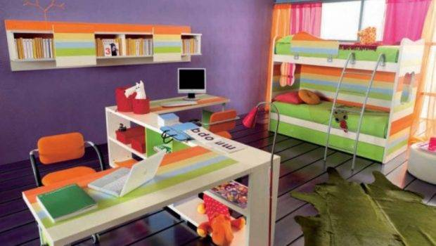 Creative Space Teen Bedroom Decor Ideas Colorful Design