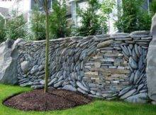 Creative Stacked Stone Wall Ideas Home Design Garden