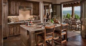 Cse Associates Contemporary Rustic Kitchen