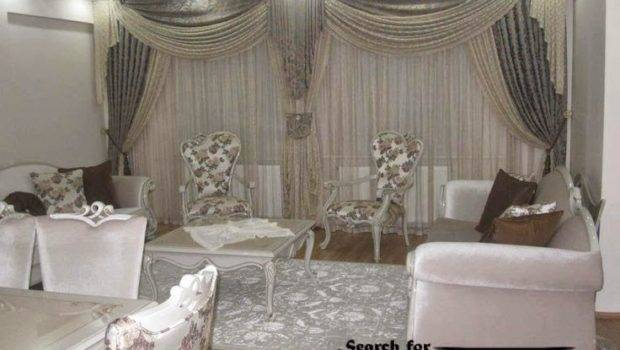 Curtain Designs Living Room Embossed Curtains Drapes