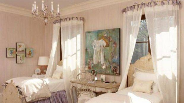 Curtain Rods Sheets Sheer Fabric Attached