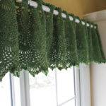 Curtains Crochet Lace Blinds Shades Window