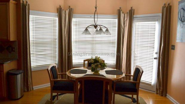 Curtains Dining Room Bay Window Best